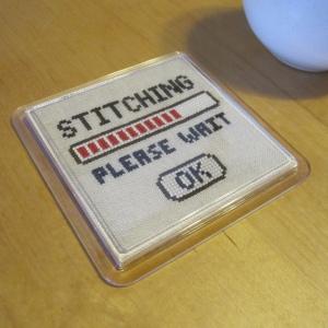 Stitching, Please Wait